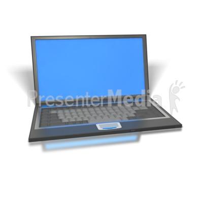Laptop Presentation clipart