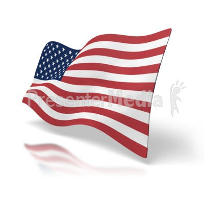 american flag pictures clip art. Usa Flag Perspective