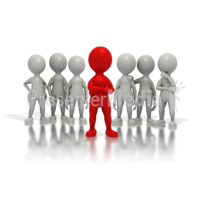 Leader Of The Pack Presentation clipart
