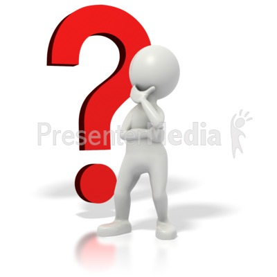 Questions Clipart Animation Stickman question mark.