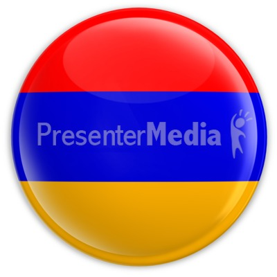 Badge of the Armenian Flag Presentation clipart