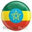 ID# 2048 - Badge of the Ethiopian Flag - Presentation Clipart