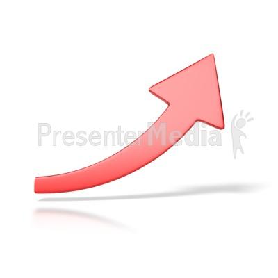 Clip Art Arrow Up. Red Arrow Up PowerPoint Clip