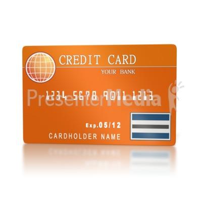 Banking Credit Card  Presentation clipart