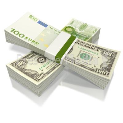 Split Currency  Presentation clipart