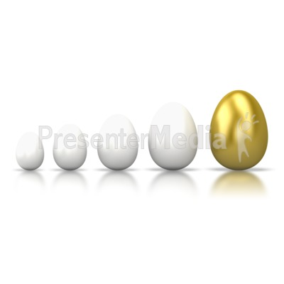 Egg Line Grow Presentation clipart