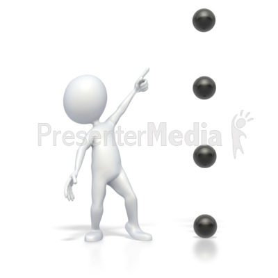 Bullet Point Point High Version 2 PowerPoint Clip Art