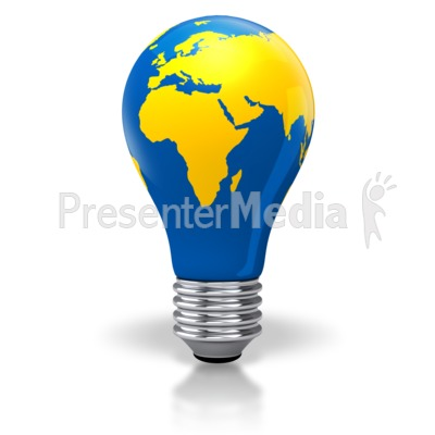 Light bulb world map africa europe asia science and technology light bulb world map africa europe asia powerpoint clip art gumiabroncs Choice Image