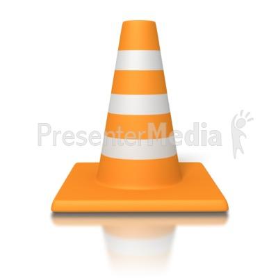 Traffic Cone Presentation clipart