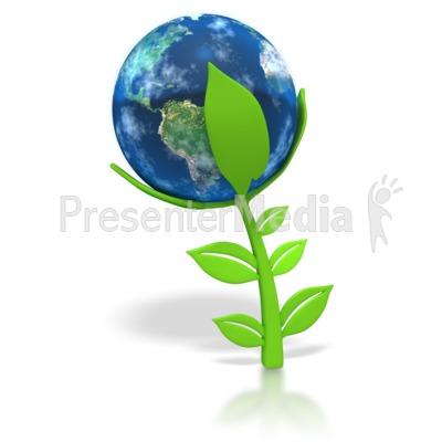 plant clip art. Earth Plant. This clip art