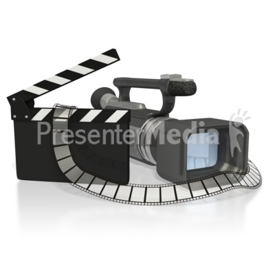 video camera clipart. a digital video camera and