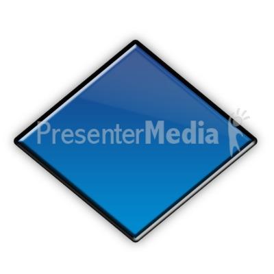 Diamond Flow Chart Symbol Presentation clipart