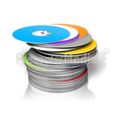 large pile dvds cds stacked science and technology great clipart rh presentermedia com Smokestack Clip Art Cat Clip Art Black and White
