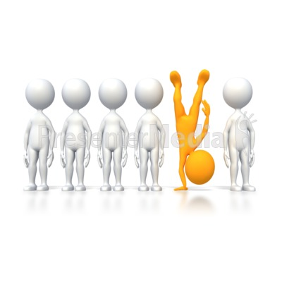 Be Different Presentation clipart
