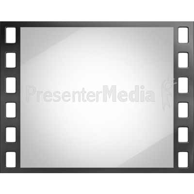 Shiny Film Slide Presentation clipart