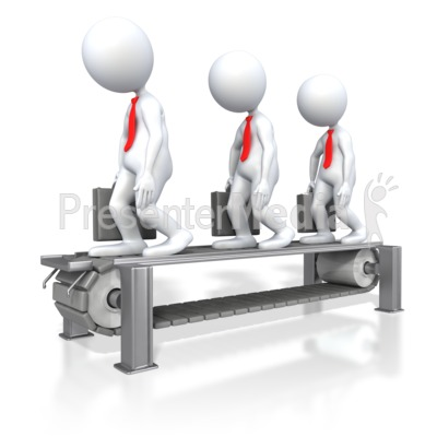 Business Assembly Line  Presentation clipart