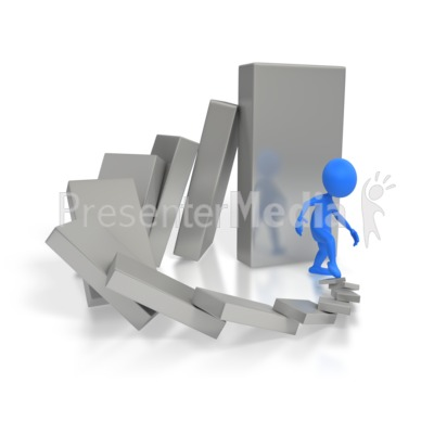 Cause And Effect Dominoes  Presentation clipart