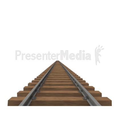 Train Track PowerPoint Clip Art