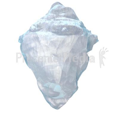 Iceberg Presentation clipart