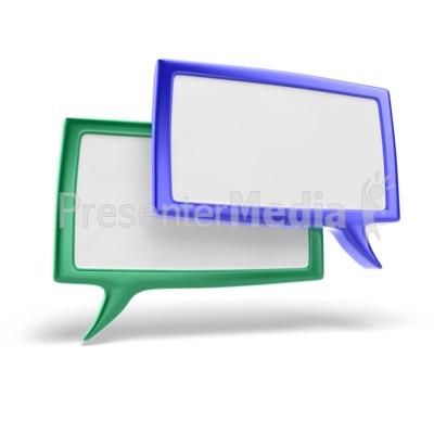 Discussion Icon Presentation clipart