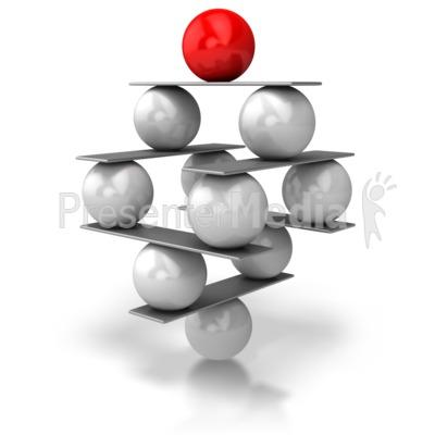 Balance Balls Presentation clipart