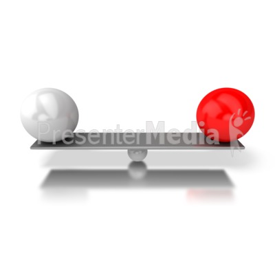 Balanced Bar Presentation clipart