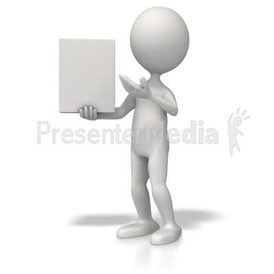 Presenting Product Presentation clipart
