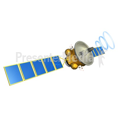 Satellite Communication Presentation clipart