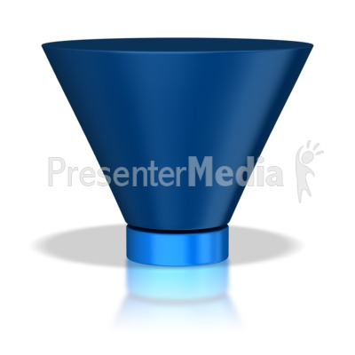 Two Stage Funnel Presentation clipart