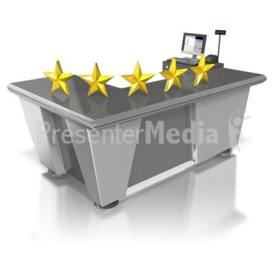 Five Star Retail Customer Service Presentation clipart