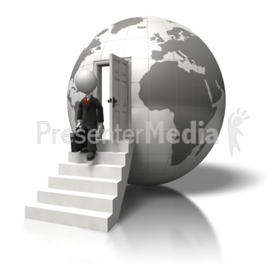 Global Business Trip Presentation clipart