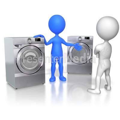 Sales Figure Selling Appliances Presentation clipart