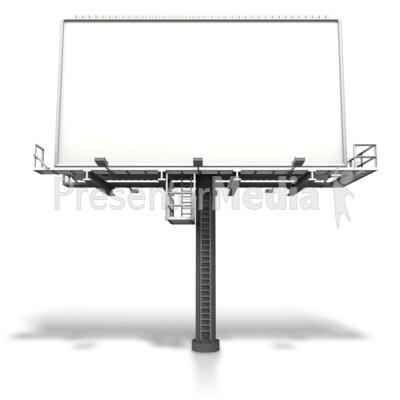 Large Billboard Display Presentation clipart