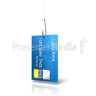 Credit Card Bait Presentation clipart