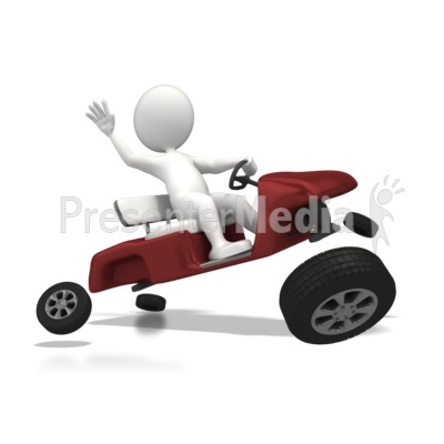 Wheels Came Off Presentation clipart