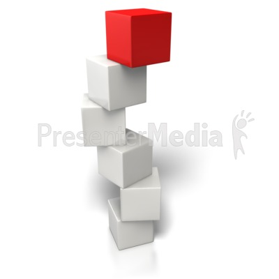 Top Box Stand Out Presentation clipart