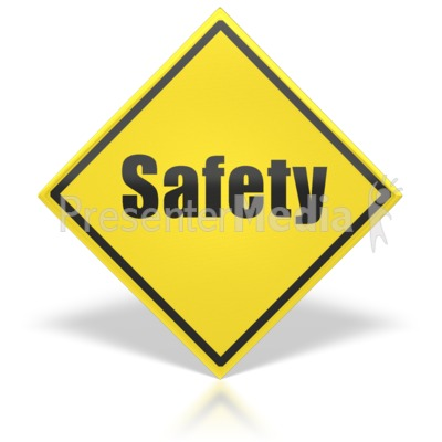 Safety Sign Presentation clipart