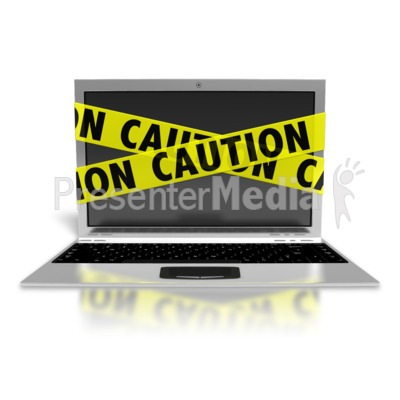 Laptop Internet Safety Presentation clipart