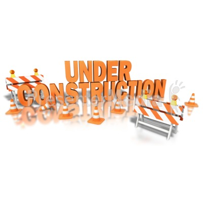 Construction Site Presentation clipart