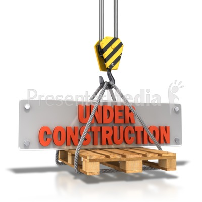 Hook Carrying Construction Plate Presentation clipart