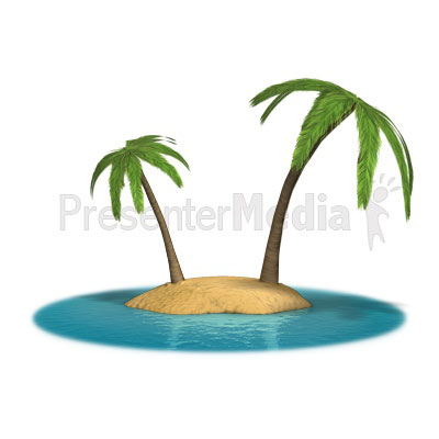 Palm Island Presentation clipart