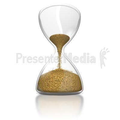 Hourglass Presentation clipart