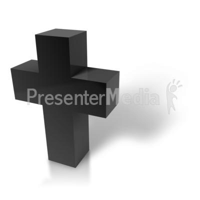 Modern Cross Presentation clipart
