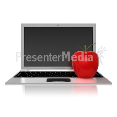 Teachers Computer Presentation clipart