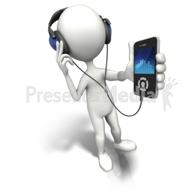 Enjoy The Music Presentation clipart