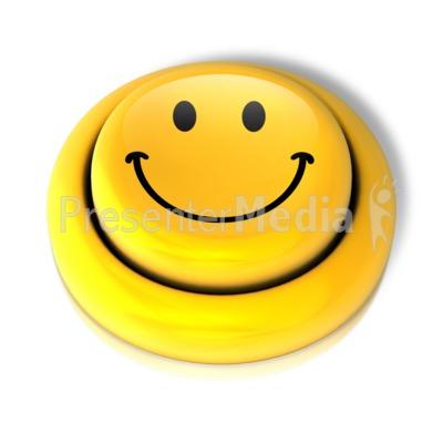 Smiley Face Smile Button Presentation clipart
