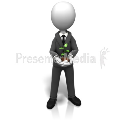 Business New Growth Presentation clipart