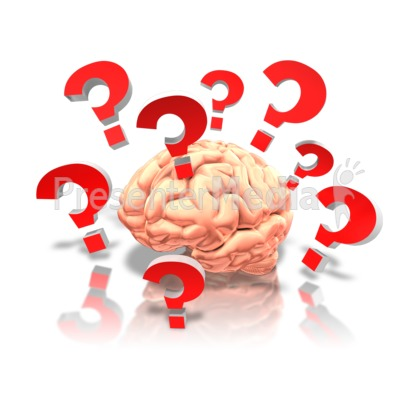 Brain With Questions Presentation clipart