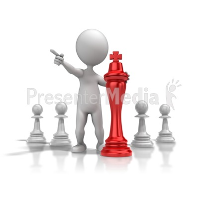 Chess Strategy Presentation clipart