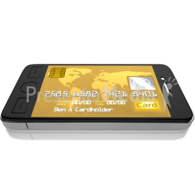 Mobile Credit Card Presentation clipart